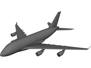 Airbus A3XX-100 3D Model 3D Preview