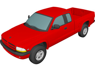 Dodge Dakota Sport (1999) 3D Model