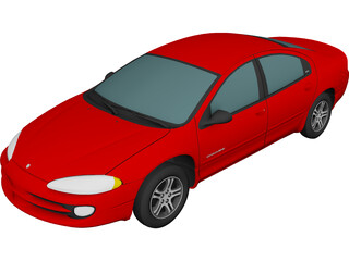 Dodge Intrepid (1999) 3D Model