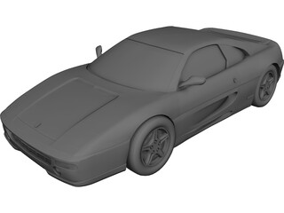 Ferrari F355 Coupe (1995) 3D Model