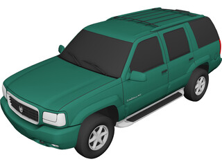 Cadillac Escalade (1999) 3D Model