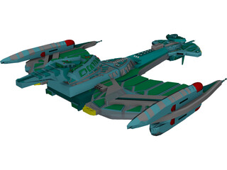 Star Trek Klingon 3D Model