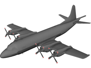 Lockheed P-3C Orion 3D Model