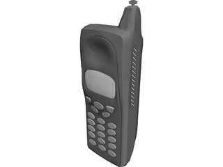 Telephone Cellular 3D Model