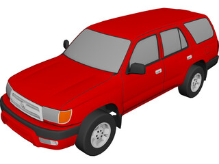 Toyota 4Runner (1999) 3D Model