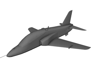 British Aerospace BAe Hawk MK-1A 3D Model