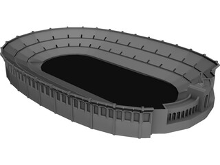 Coliseum Los Angeles 3D Model