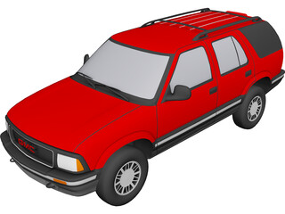 GMC Jimmy (1995) 3D Model