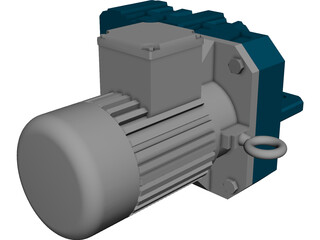 Eletronic Engine 3D Model