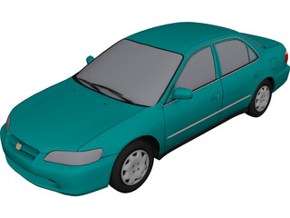 Honda Accord (1998) 3D Model
