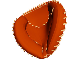 Baseball Catchers Mitt 3D Model