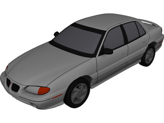 Pontiac Grand Am (1996) 3D Model