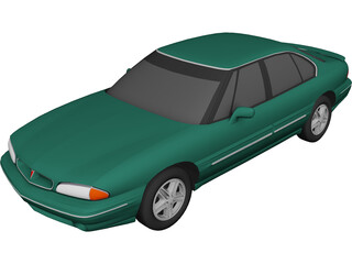 Pontiac Bonneville (1996) 3D Model