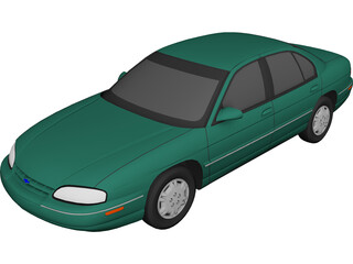 Chevrolet Lumina (1996) 3D Model 3D Preview