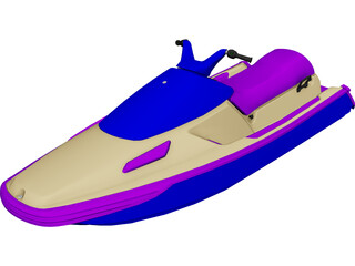 Personal Watercraft 3D Model