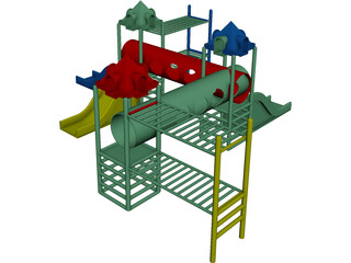 Play Equipment 3D Model