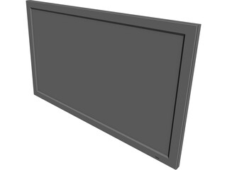 Plasma Screen 3D Model