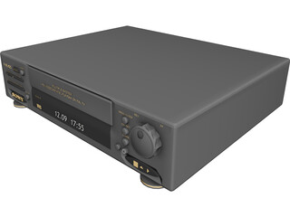 Sony VCR 3D Model