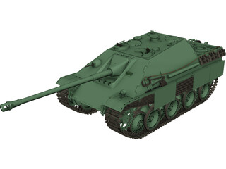 Jagd Panzer 3D Model