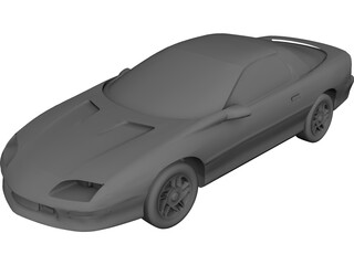 Chevrolet Camaro (1996) 3D Model 3D Preview