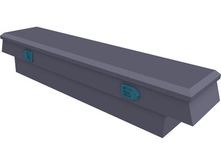 Truckbed Toolbox 3D Model 3D Preview
