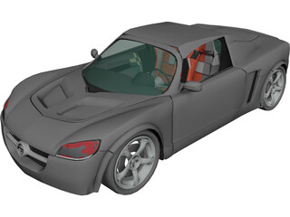 Opel Speedster 3D Model