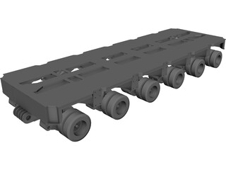 Goldhofer 6 line thp-sl 3D Model