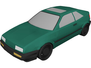 Volkswagon Corrado 3D Model