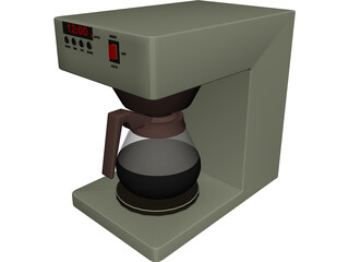 Coffee Machine CAD 3D Model