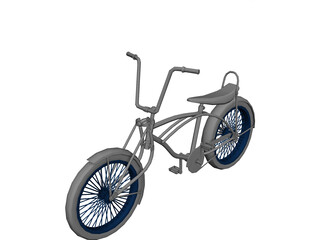 Lowrider Bicycle 3D Model