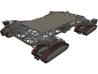 NASA Crawler Transporter 3D Model