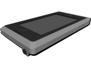 LG Cellular Phone CAD 3D Model