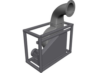 Blower CAD 3D Model