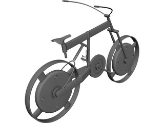 Bicycle Concept CAD 3D Model