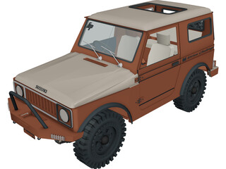 Suzuki Sierra 3D Model 3D Preview