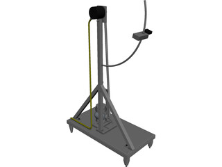 Pendulum CAD 3D Model