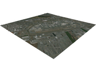Newark International Airport 3D Model