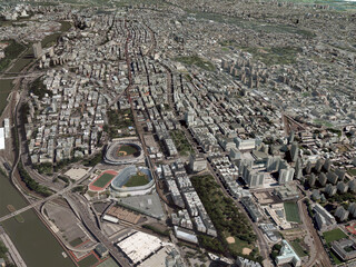 New York City Bronx 3D Model