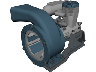 Compressor [NURBS] 3D Model