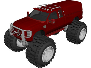 Ford Super Duty 3D Model