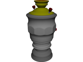 Pot Kettle CAD 3D Model