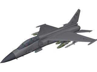 PLA FBC-1 3D Model 3D Preview