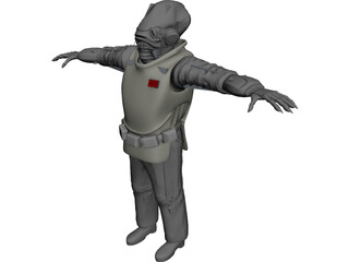 Star Wars Character 3D Model