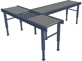 Conveyor Belt 3D Model