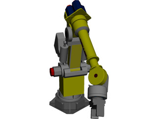 Fanuc S 420 F CAD 3D Model