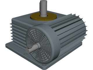 Electric Motor [NURBS] 3D Model