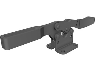 Gripper 235 USS CAD 3D Model