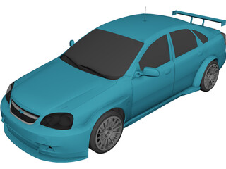 Chevrolet Lacetti WTCC 3D Model
