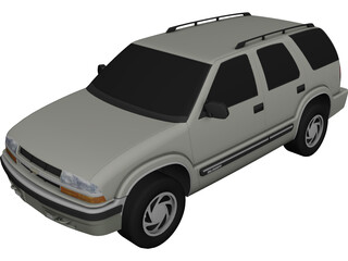 Chevrolet Blazer 4 door (2001) 3D Model