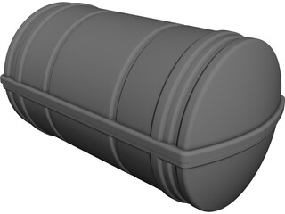 Liferaft CAD 3D Model